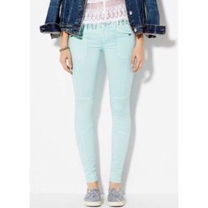 AMERICAN EAGLE MIntSuper Stretch Skinny Jeggings
